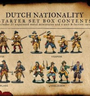 Blood & Plunder: Dutch Nationality Starter Set