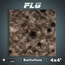 4x4 Battlefield Mat