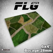 6x4 Bocage 28mm Mat