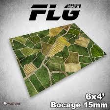 6x4 Bocage 15mm Gaming Mat