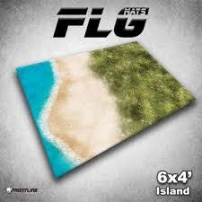 6x4 Island Gaming Mat