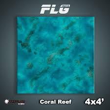 4x4 Coral Reef