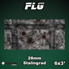 6x3 Stalingrad 15mm Gaming Mat