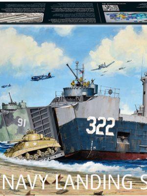 US Navy Landing Ship Medium w/ Bofors 40mm