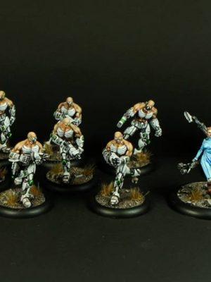 Mutant Chronicles Warzone Starter Box: Cybertronic