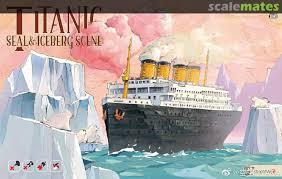 Titanic Seal & Iceberg Scene