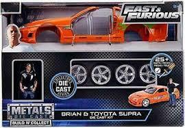 """Fast & Furious"" Brian & Toyota Supra Die Cast Kit"