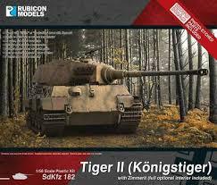 Tiger II (Konigstiger) With Zimmerit