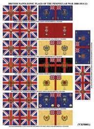 British Napoleonic Flags of the Peninsular War