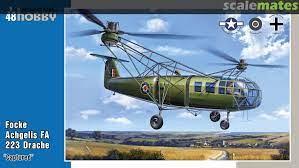 "Focke Achgelis FA 223 Drache ""Captured"""