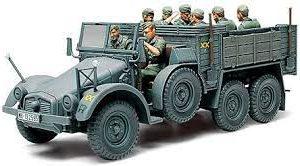6x4 Truck Krupp Protze Personel Carrier