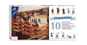 Caravels And Galleons: Ten Figure Set