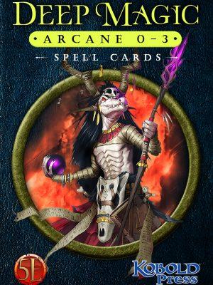 5e: Deep Magic Arcane 0-3 Spell Cards