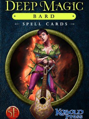 5e: Deep Magic Bard Spell Cards