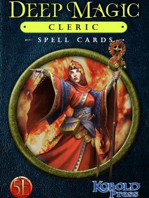 5e: Deep Magic Cleric Spell Cards
