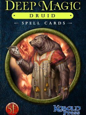 5e: Deep Magic Druid Spell Cards