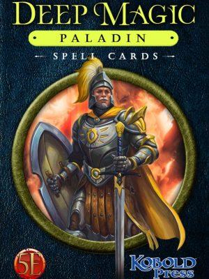 5e: Deep Magic Paladin Spell Cards